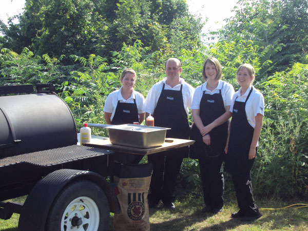 Shaws Catering team