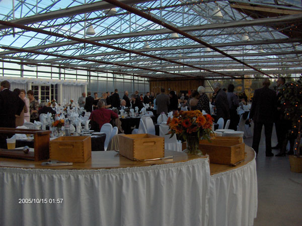 Shaws Catering wedding event