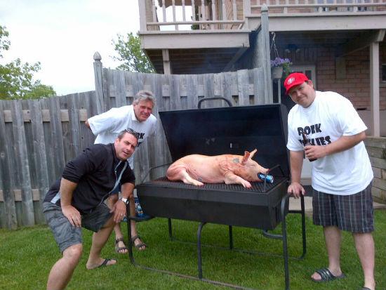 Diy Pig Roasts Shaws Catering Hawkestone